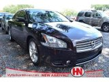 2010 Crimson Black Nissan Maxima 3.5 SV #71009636