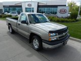 2003 Light Pewter Metallic Chevrolet Silverado 1500 LS Regular Cab #71010290