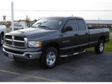 2002 Graphite Metallic Dodge Ram 1500 SLT Plus Quad Cab 4x4 #7062123