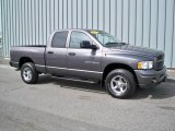 2002 Graphite Metallic Dodge Ram 1500 SLT Plus Quad Cab 4x4 #7061249