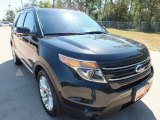 2013 Tuxedo Black Metallic Ford Explorer Limited #71063414