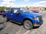 2012 Blue Flame Metallic Ford F150 XLT SuperCab 4x4 #71062680