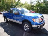 2012 Blue Flame Metallic Ford F150 XLT SuperCab 4x4 #71062679