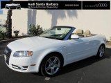 2008 Ibis White Audi A4 2.0T Cabriolet #71062623
