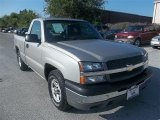 2004 Silver Birch Metallic Chevrolet Silverado 1500 Regular Cab #71062611
