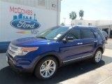 2013 Deep Impact Blue Metallic Ford Explorer XLT #71062609