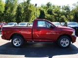 2012 Deep Cherry Red Crystal Pearl Dodge Ram 1500 Express Regular Cab 4x4 #71063294