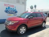 2013 Ruby Red Metallic Ford Explorer FWD #71062606