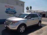 2013 Ingot Silver Metallic Ford Explorer FWD #71062605