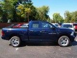2012 True Blue Pearl Dodge Ram 1500 Express Quad Cab 4x4 #71063285
