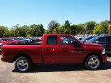 2012 Deep Cherry Red Crystal Pearl Dodge Ram 1500 Express Quad Cab 4x4 #71063281