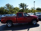 2012 Deep Cherry Red Crystal Pearl Dodge Ram 1500 Express Quad Cab 4x4 #71063280