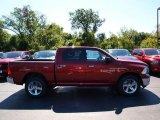 2012 Deep Cherry Red Crystal Pearl Dodge Ram 1500 Big Horn Crew Cab 4x4 #71063279