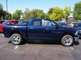 2012 True Blue Pearl Dodge Ram 1500 Big Horn Crew Cab 4x4 #71063275