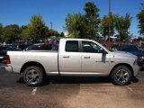 2012 Bright Silver Metallic Dodge Ram 1500 Sport Quad Cab 4x4 #71063270