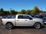 2012 Bright Silver Metallic Dodge Ram 1500 Big Horn Crew Cab 4x4 #71063268