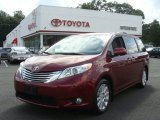 2011 Salsa Red Pearl Toyota Sienna Limited AWD #71063218