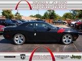 2013 Pitch Black Dodge Challenger R/T #71062518