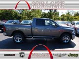 2012 Mineral Gray Metallic Dodge Ram 1500 Big Horn Quad Cab 4x4 #71062511