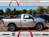 2012 Bright Silver Metallic Dodge Ram 1500 Express Regular Cab 4x4 #71062508