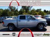 2012 Bright Silver Metallic Dodge Ram 1500 Express Crew Cab 4x4 #71062498