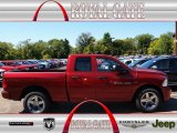 2012 Deep Cherry Red Crystal Pearl Dodge Ram 1500 Express Quad Cab 4x4 #71062497
