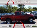 2012 Deep Cherry Red Crystal Pearl Dodge Ram 1500 Express Quad Cab 4x4 #71062496