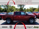 2012 Deep Cherry Red Crystal Pearl Dodge Ram 1500 Big Horn Crew Cab 4x4 #71062495