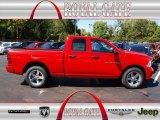 2012 Flame Red Dodge Ram 1500 Express Quad Cab #71062492