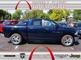 2012 True Blue Pearl Dodge Ram 1500 Big Horn Crew Cab 4x4 #71062491