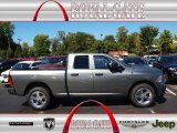 2012 Mineral Gray Metallic Dodge Ram 1500 Express Quad Cab 4x4 #71062490