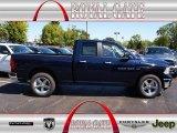 2012 True Blue Pearl Dodge Ram 1500 Big Horn Quad Cab 4x4 #71062488
