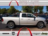 2012 Bright Silver Metallic Dodge Ram 1500 Sport Quad Cab 4x4 #71062486