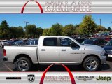 2012 Bright Silver Metallic Dodge Ram 1500 Big Horn Crew Cab 4x4 #71062484