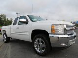 2013 Summit White Chevrolet Silverado 1500 LT Extended Cab #71062892
