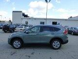 2012 Opal Sage Metallic Honda CR-V EX-L 4WD #71063183