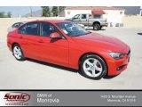 2013 Melbourne Red Metallic BMW 3 Series 328i Sedan #71062828
