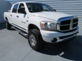 2006 Bright White Dodge Ram 1500 SLT Mega Cab 4x4 #71062819