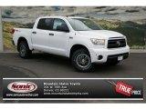 2012 Super White Toyota Tundra TRD Rock Warrior CrewMax 4x4 #71062399
