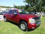 2007 Sport Red Metallic Chevrolet Silverado 1500 LT Crew Cab 4x4 #71062751