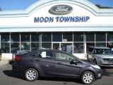 2013 Violet Gray Ford Fiesta SE Sedan #71062743