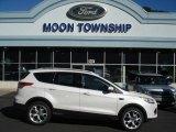 2013 White Platinum Metallic Tri-Coat Ford Escape Titanium 2.0L EcoBoost 4WD #71062742