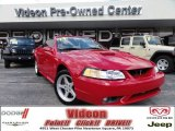 1999 Rio Red Ford Mustang SVT Cobra Convertible #71132788