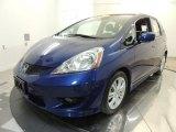 2011 Vortex Blue Pearl Honda Fit Sport #71132773