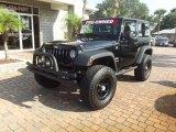 2011 Black Jeep Wrangler Sport 4x4 #71132760