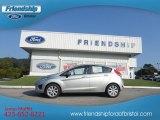 2013 Ingot Silver Ford Fiesta SE Hatchback #71132121