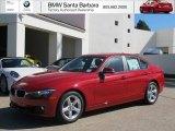 2013 Melbourne Red Metallic BMW 3 Series 328i Sedan #71132110