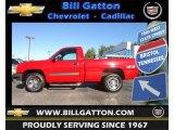 2003 Victory Red Chevrolet Silverado 1500 Regular Cab 4x4 #71132711