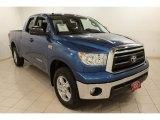 2010 Blue Streak Metallic Toyota Tundra SR5 Double Cab 4x4 #71132418