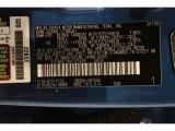 2010 Tundra Color Code for Blue Streak Metallic - Color Code: 8T7
